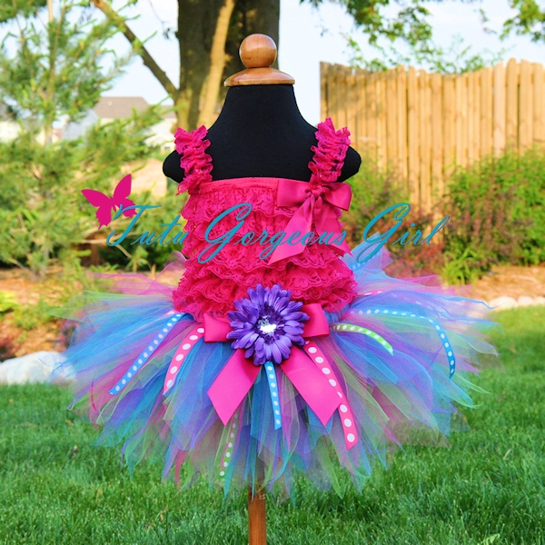 Its My Party Ribbon Tutu
