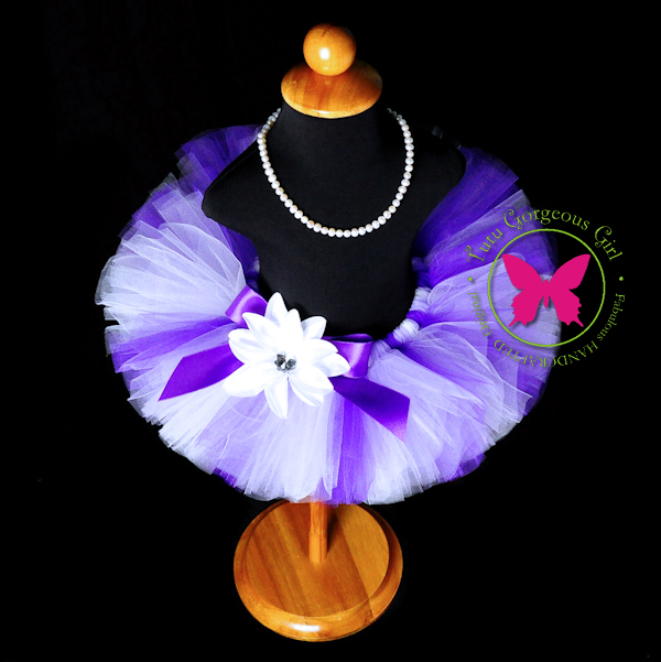 Lavender and Purple Tutu