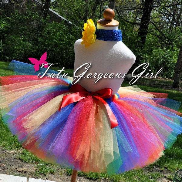 Women's Rainbow Fun Tutu