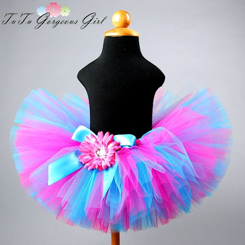 Hot Pink and Turquoise Tutu