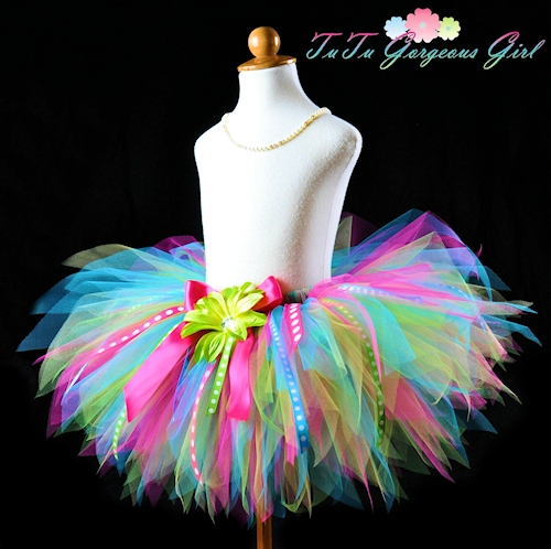Birthday Surprise Ribbon Tutu