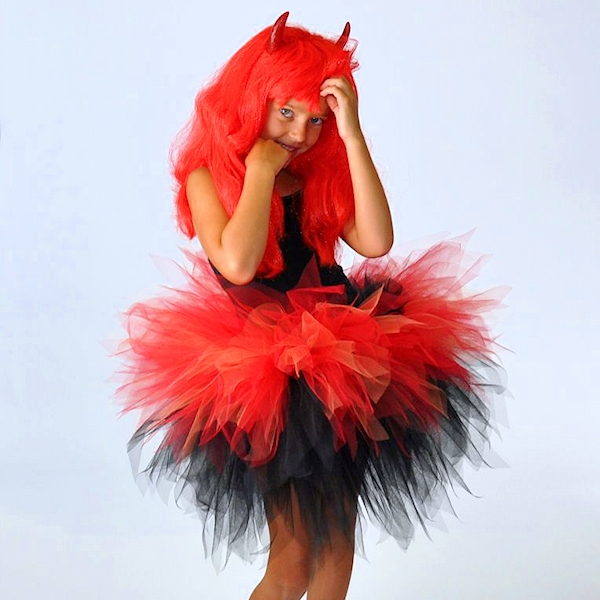 Dare Devil Layered Tutu