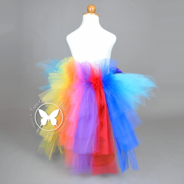 Rainbow Pony Bustle Tutu