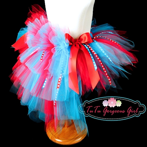 Mad About Seuss Bustle Tutu