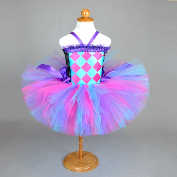 Pink Turquoise Purple Tutu Outfit
