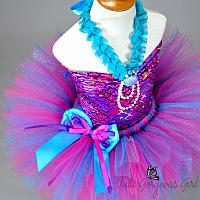 Hot Pink Mermaid Costume