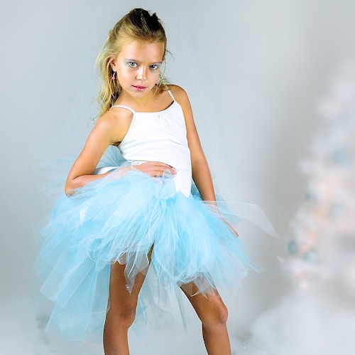 Ice Princess Bustle Tutu