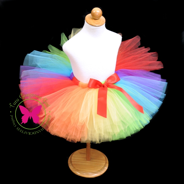 I Heart Rainbows Tutu
