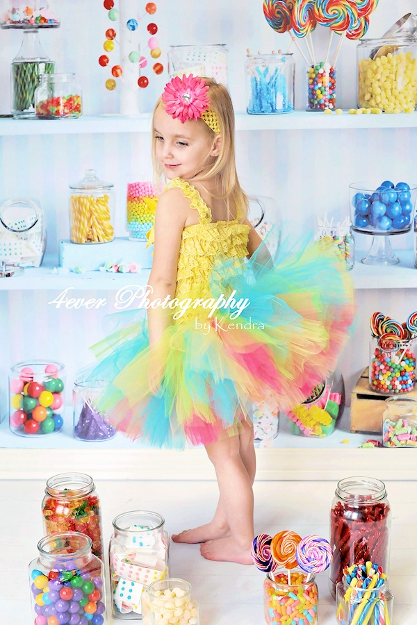 Candy Shop Birthday Tutu