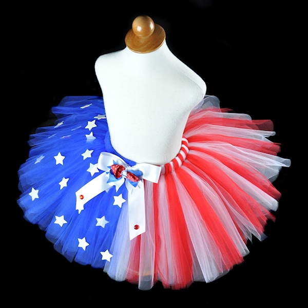 Miss America 4th of July Tutu