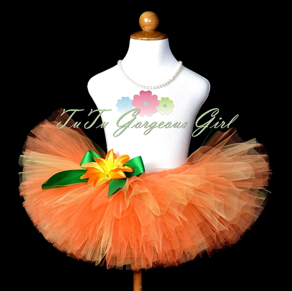 My Little Pumpkin Tutu