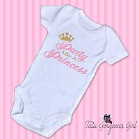 Party Like A Princess Birthday Shirt