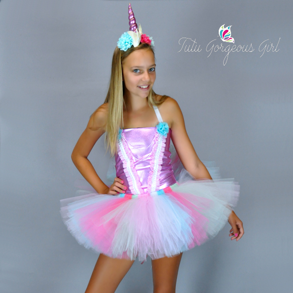 Pink Unicorn Princess Costume