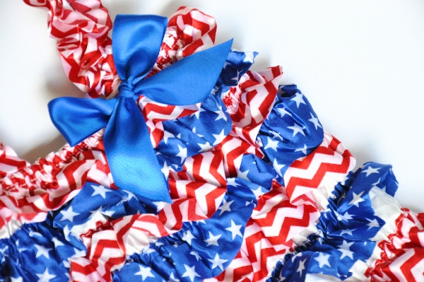 4th of July Petti Romper Set
