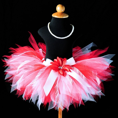 Peppermint Pixie Ribbon Tutu