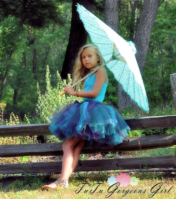 Plum Crazy Long Tutu