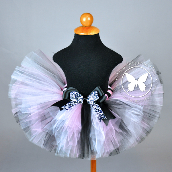 Prissy In Pink Birthday Tutu