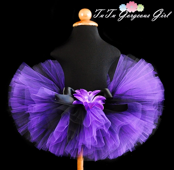 Purple and Black Tutu