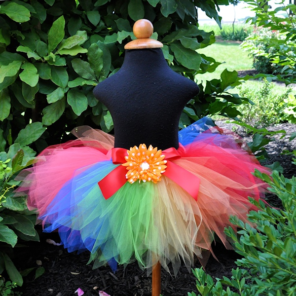 Rainbow Crush Tutu