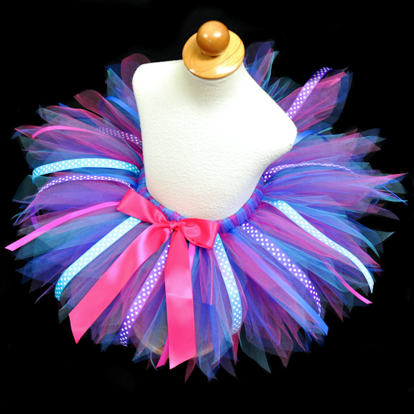 Razzle Dazzle Tutu with Ribbon Streamers