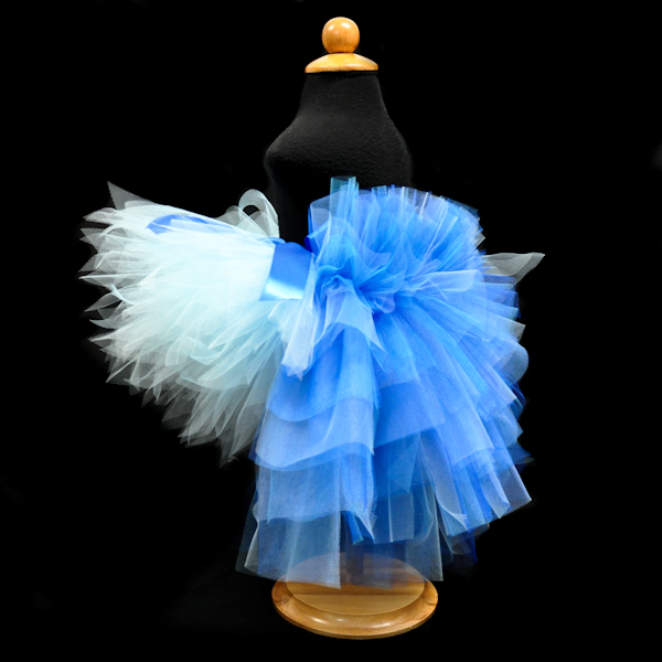Jewel Rio Blue Macaw Bustle Tutu