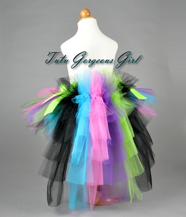 Rock Princess Bustle Tutu