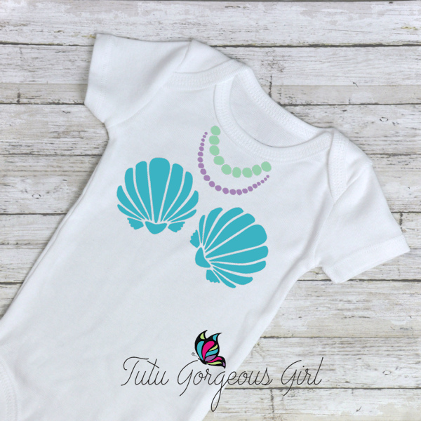 Mermaid Sea Shell Shirt
