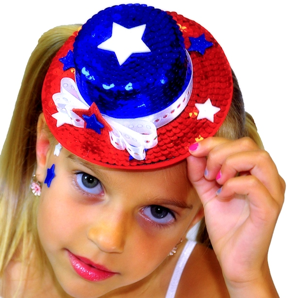 Patriotic Mini Top Hat
