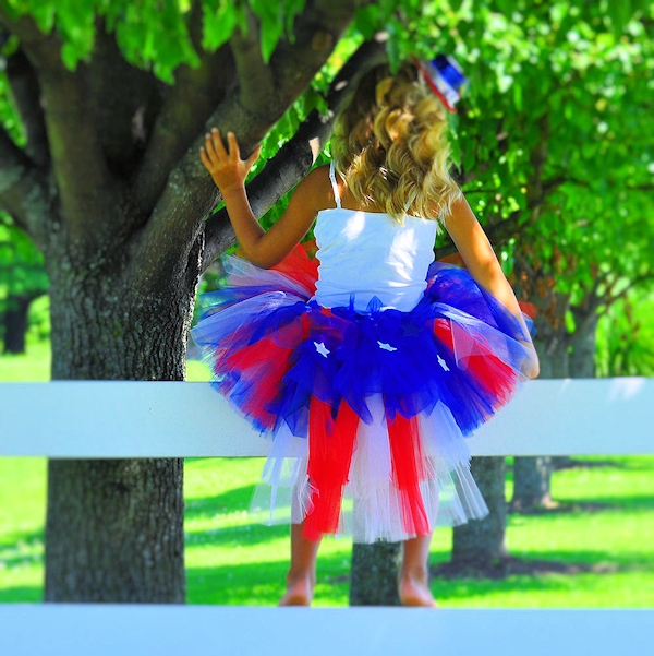 Stars & Stripes Bustle Tutu