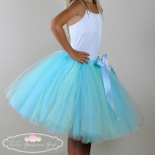 Tranquility Light Blue Tutu