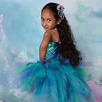 Girls Mermaid Costume Tutu Set