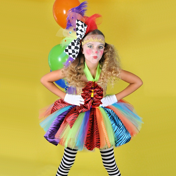 Under The Big Top Clown Tutu Costume