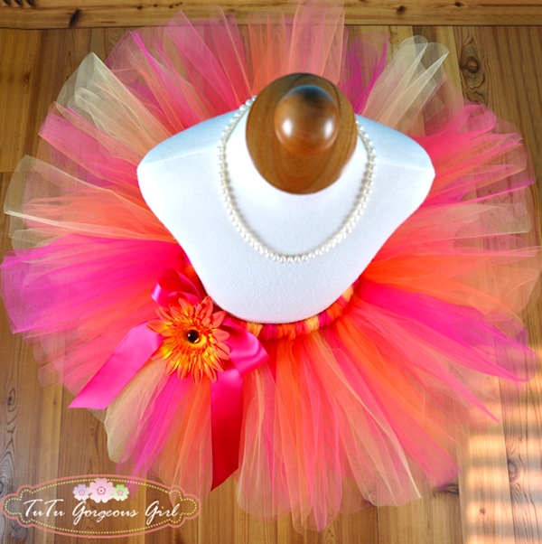 Tropical Orange Sorbet Tutu