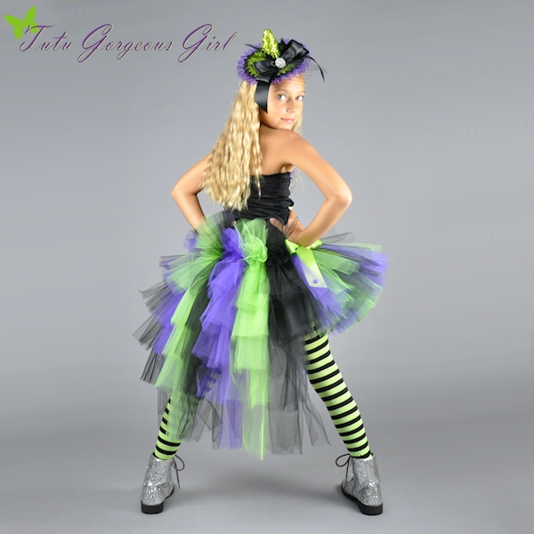 Wickedly Glam Halloween Bustle Tutu